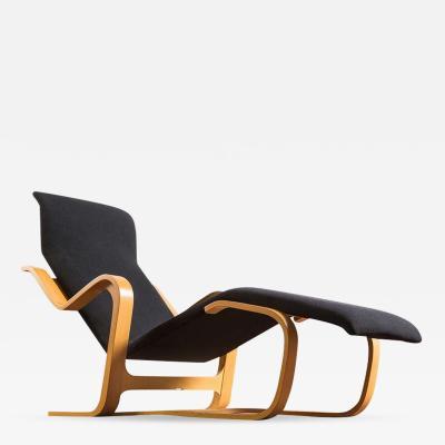 Marcel Breuer Stunning Reclining Chaise Longue by Marcel Breuer