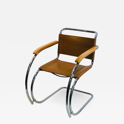 Marcel Breuer Vintage Cantilever Chair by Marcel Breuer for Thonet Model S533