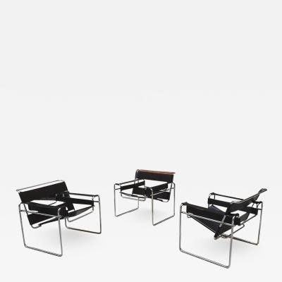 Marcel Breuer Wassily armchair by Marcel Breuer and produced by Gavina in 1968