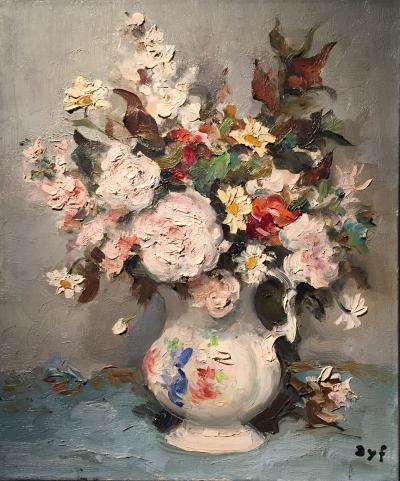 Marcel Dyf Vase de Fleurs