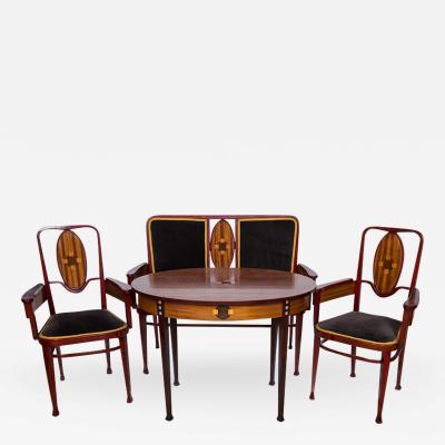 Marcel Kammerer Viennese Bentwood Suite Marcel Kammerer for Thonet 1908