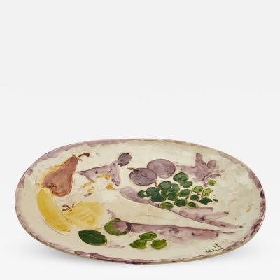 Marcel Vertes Colorful Ceramic Charger Tapis Vert by Marcel Vert s