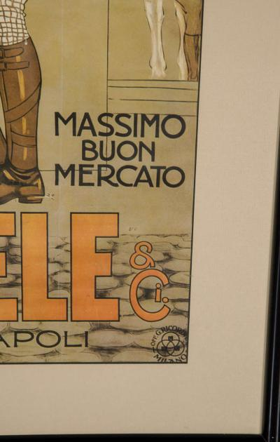 Marcello Dudovich Belle Epoque Italian Fashion Art Lithographic Poster by Marcello Dudovich