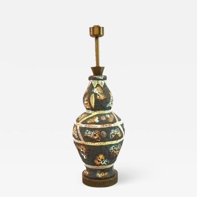 Marcello Fantoni 1960s Table Lamp Attributed to Fantoni