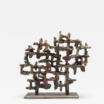 Marcello Fantoni Glazed Ceramic Sculpture by Marcello Fantoni 1970s