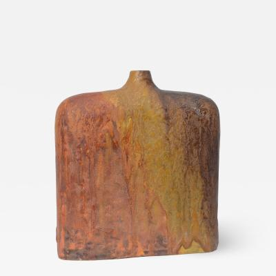 Marcello Fantoni Italian Brutalist Vase by Marcello Fantoni c 1960