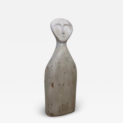 Marcello Fantoni Italian Terracotta Sculpture Anthropomorphic Statue Art Marcello Fantoni 1960s