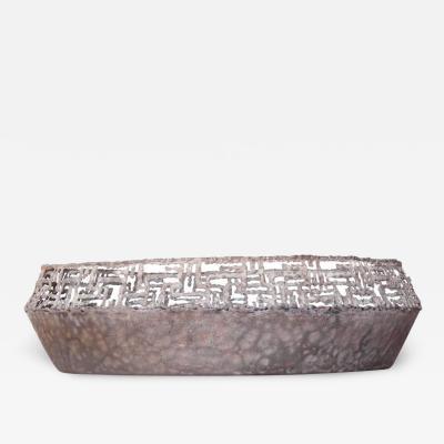 Marcello Fantoni Large Bronze Bowl by Marcello Fantoni