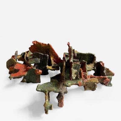 Marcello Fantoni Marcello Fantoni Abstract Ceramic Sculpture Italy Late 1970s