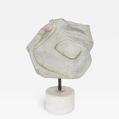 Marcello Fantoni Marcello Fantoni Italian Abstract Ceramic Studio Sculpture Signed Fantoni 1974