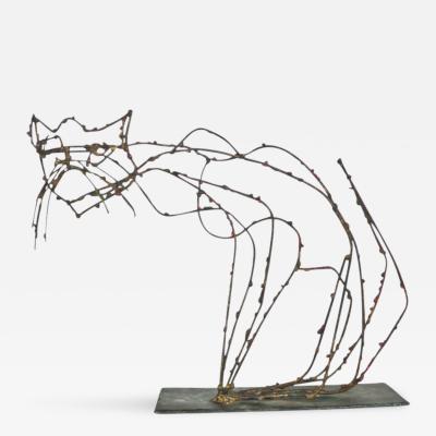 Marcello Fantoni Marcello Fantoni Pussycat Sculpture 1950s