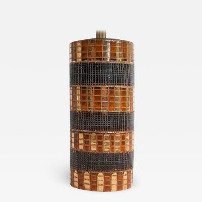 Marcello Fantoni Mid Century Bitossi Table Lamp Attributed to Aldo Londi