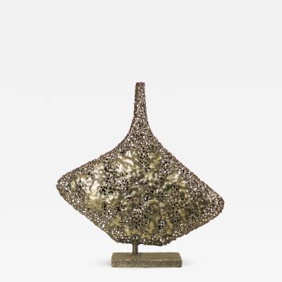 Marcello Fantoni Rare Silver and Copper Sculpture by Marcello Fantoni