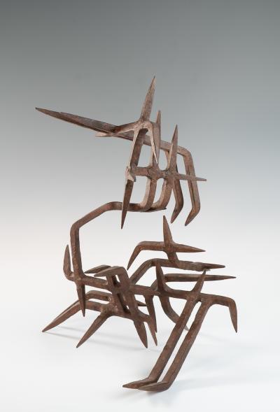 Marcello Fantoni Wrought iron forms by Marcello Fantoni