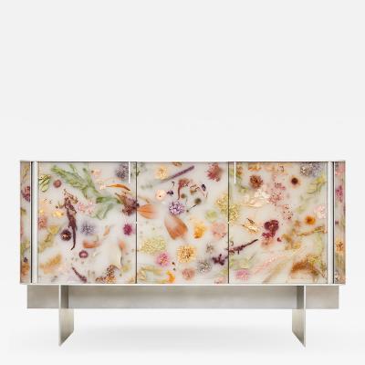 Marcin Rusak Flora Cabinet 152 Misty White 2021