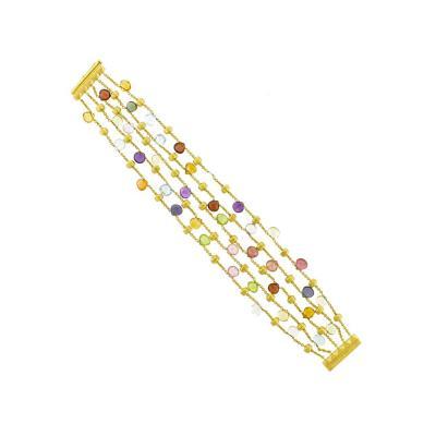 Marco Bicego Marco Bicego Paradise Multicolored Gem Stone Bracelet