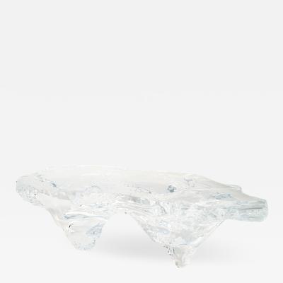 Marco Pettinari Acrylic Central Table Glacialis