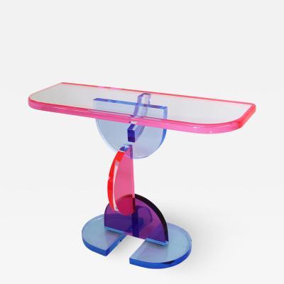 Marco Pettinari Acrylic Console Table Gonios