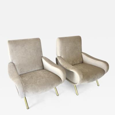 Marco Zanuso A Pair of Marco Zanuso Lady Chairs Italy c 1951