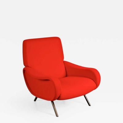 Marco Zanuso First Edition Lady Easy Chair by Marco Zanuso for Arflex Italy circa 1950