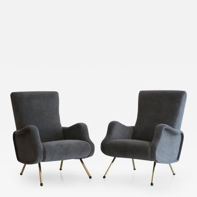 Marco Zanuso Italian Chairs Attributed to Marco Zanuso