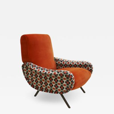 Marco Zanuso Lady Armchair Designed By Marco Zanuso Edited By Arflex Italy 60s