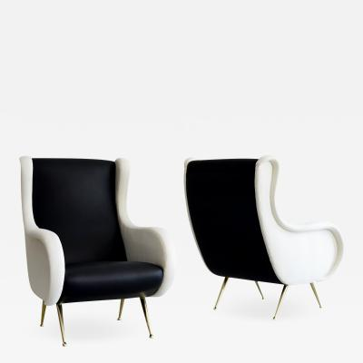 Marco Zanuso MARCO ZANUSO ATTRIBUTED CLUB CHAIRS