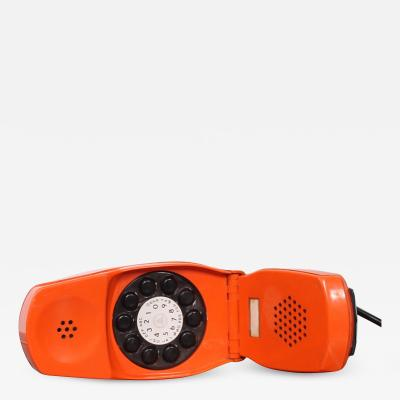 Marco Zanuso MOMA Grillo Folding Orange Telephone ITALY Marco Zanuso Richard Sapper 1966