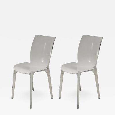 Marco Zanuso Pair of Lambda Chairs by Richard Sapper and Marco Zanuso for Gavina
