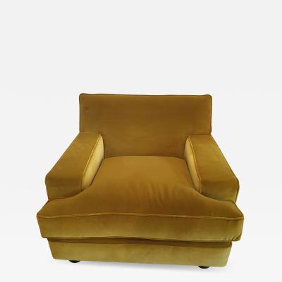 Marco Zanuso Pair of Marco Zanuso square armchairs