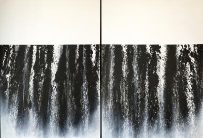 Mareo Rodriguez Expansion diptych