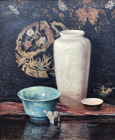 Margaret Fulton Spencer White Vase