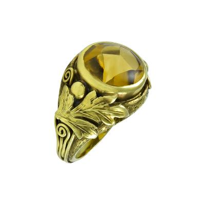 Margaret Rogers Margaret Rogers Gold Ring with Citrine