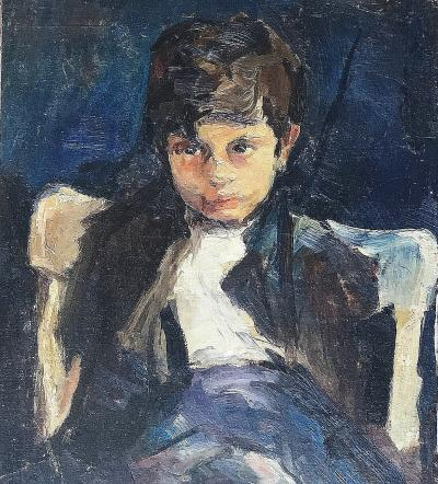 Margery Austen Ryerson Portrait of a Boy