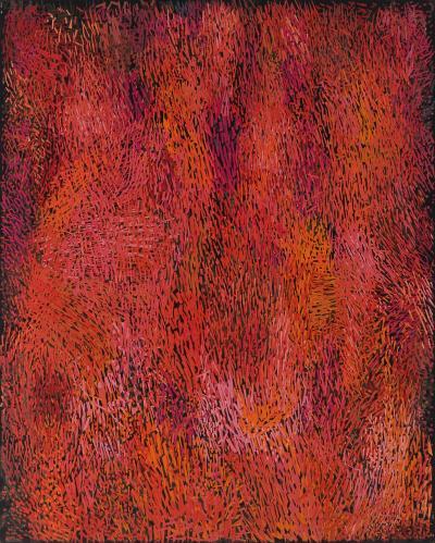 Margo Hoff October Hill Red