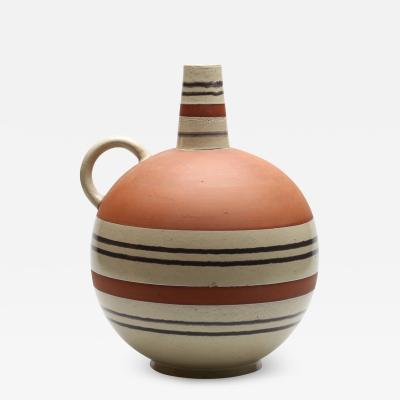 Mari Simmulsson Rationalized Ewer Form Vase by Mari Simmulson for Upsala Ekeby
