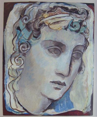 Maria LAGORIO Portrait of a woman by Maria LAGORIO circa 1930