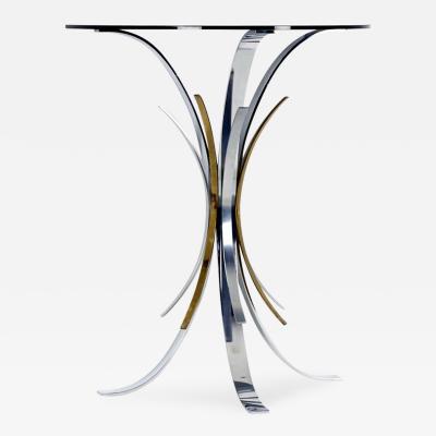Maria Pergay Rare Gerbe Console Table by Maria Pergay