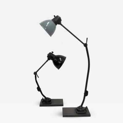 Marianne Brandt Task Lamps by Marianne Brandt for Kandem
