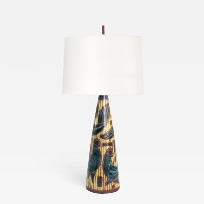 Marianne Starck Large Scandinavian Modern ceramic lamp Marianne Starck Michael Andersen