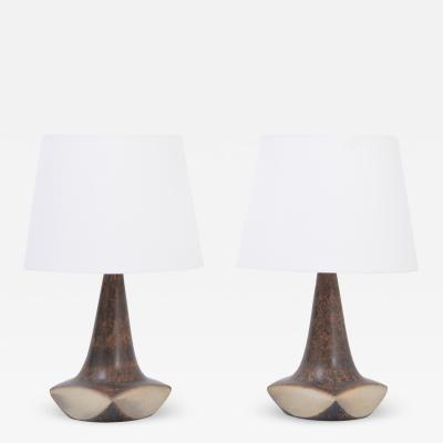 Marianne Starck Pair of Danish Midcentury table lamps by Marianne Starck for Michael Andersen