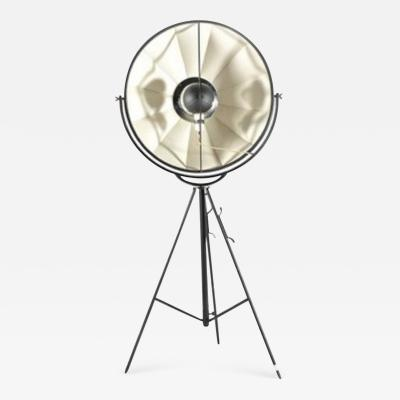 Mariano Fortuny Steel and cotton studio photographer lamp Moda by Mariano Fortuny