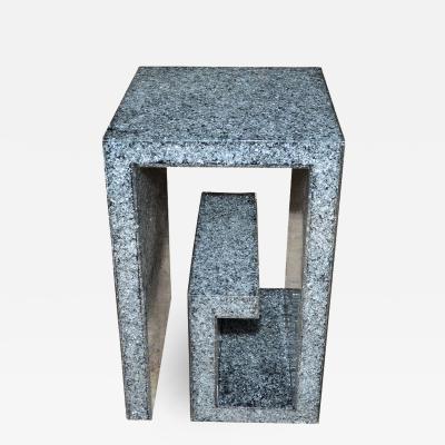 Marie Claude Fouquieres Pedestal in resine by Marie Claude de Fouquieres