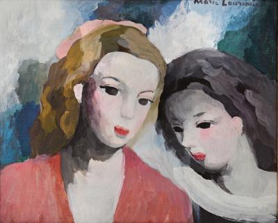Marie Laurencin Deux Femmes Two Women
