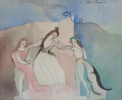 Marie Laurencin Trois Danseurs