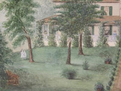 Marie M Gerber Wakefield Manor Home of the Gordon Family of Rappahanock County Virginia 1887