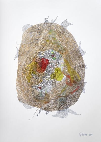 Marie Pierre Biau SANS TITRE 42 X 29 7 Contemporary drawing