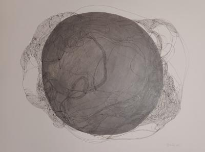Marie Pierre Biau SANS TITRE 76 X 58 Contemporary drawing