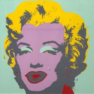 Marilyn Monroe Print by Sunday B Morning