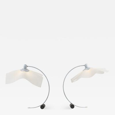 Mario Bellini AREA Pair of table lamps by Mario Bellini for Artemide